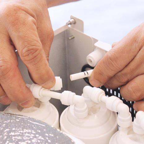 Filter Change & Internal Tubing Change