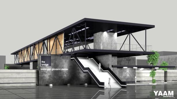 The Bridge, Sesto San Giovanni Station | Milan