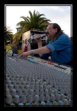 Carlos Ferrant, Técnico de Sonido