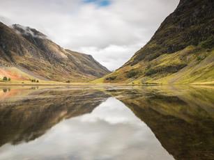 Reflections in the water of Loch Achtriochtan, Glencoe (SWP_1502)