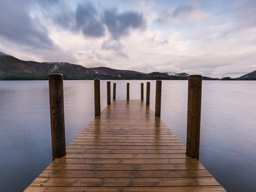 A long exposure of sunrise over Ashness jetty on Derwent Water (SWP_1645)