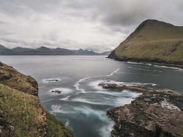 Overcast skies above Gjogv on the island of Eysturoy, the Faroe Islands (DSC_2905)