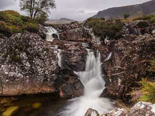 The River Coupall in Glencoe, Scotland under cloudy skies (SWP_1382)