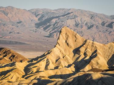 Morning light at Zabriskie Point in Death Valley, California (DSC_5777)