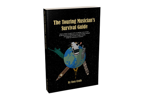 The Touring Musician's Survival Guide - Paperback