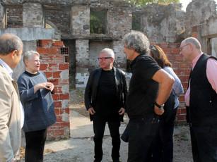 Nina & Daniel Libeskind visit the Izmir Project