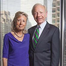 Senator and Mrs Lieberman
