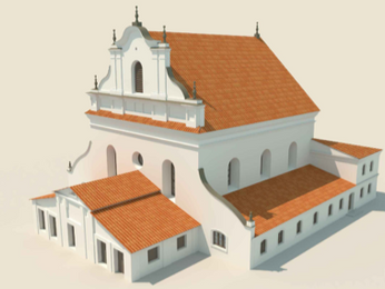 Visualising a future for the Great Synagogue of Slonim