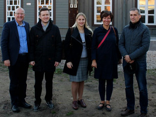Foundation joins Council of Europe delegation fact-finding visit to Lithuania