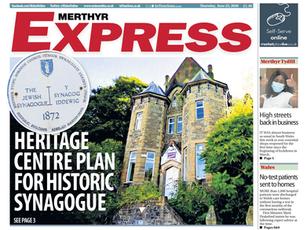 Merthyr Synagogue in the Media!