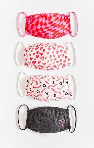 Love face masks z supply 4 pack