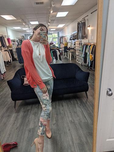 Orange grandpa sweater
