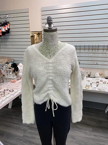 Cream super soft sweater