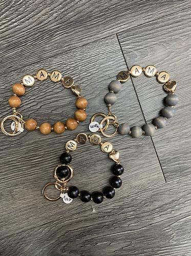 Mama key/clutch bracelet