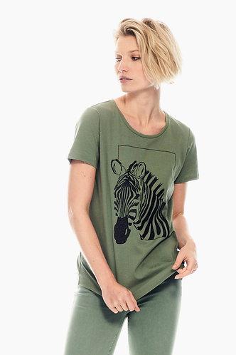 Green Zebra Tee
