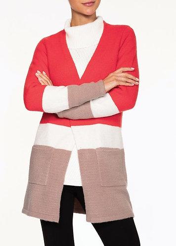 Alison Sheri Colour Block Cardigan