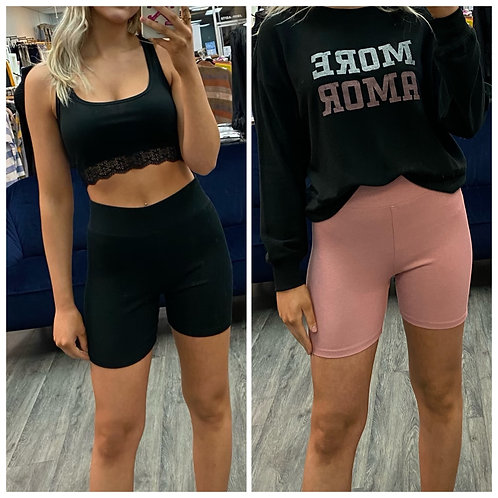 Z supply ribbed shorts