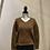 Thumbnail: V Neck Knit Sweater