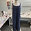 Thumbnail: Linen striped jumpsuit
