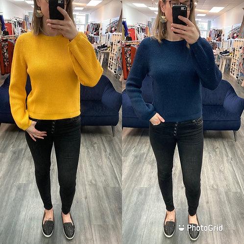 Ribbed Korner Sweater