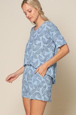 Blue nature Pajamas