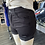 Thumbnail: Sneak peek black distressed high rise denim shorts