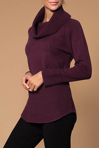 Aubergine Elena Wang Turtle Neck