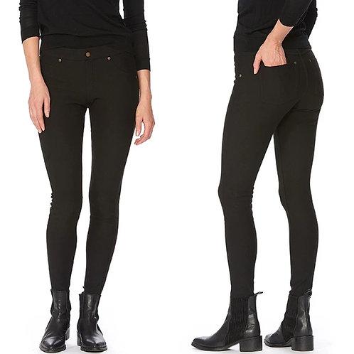 Fleece lined black hue leggings