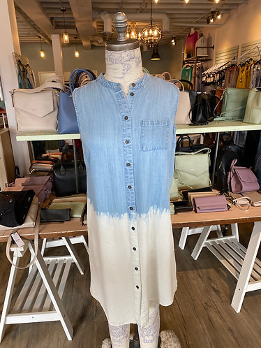 Soft denim tunic