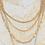 Thumbnail: 3 layer light weight neckalce