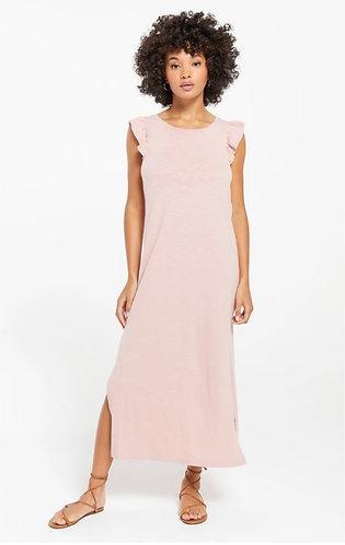 Z suppkypink blakely ruffle dress