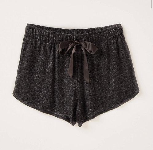 Soft marble heather shorts