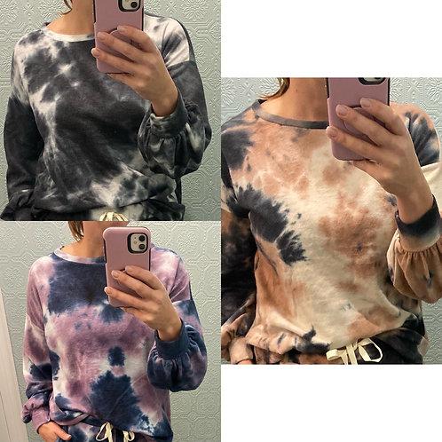 Fleece long sleeve tops