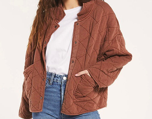 Z supply quilted jacket