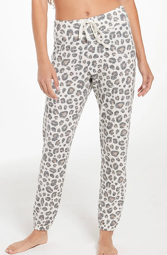 Z supply animal print soft lounge joggers