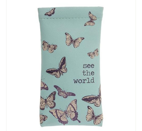 """""""See the world"""" glasses case"""
