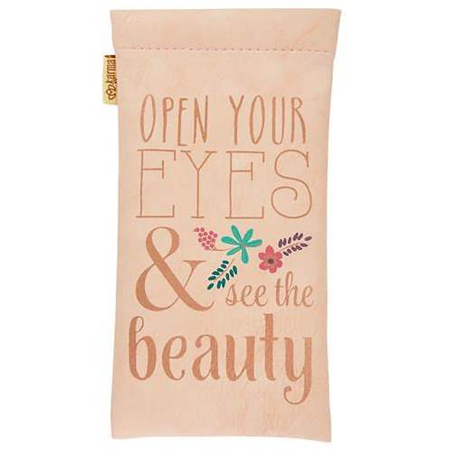 """""""Open Your Eyes & See The Beauty"""" Glasses Case"""