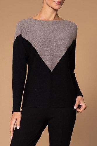 Colour Block Elena Wang Sweater