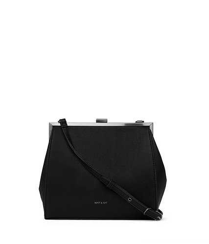 Reika purse black Matt & Nat
