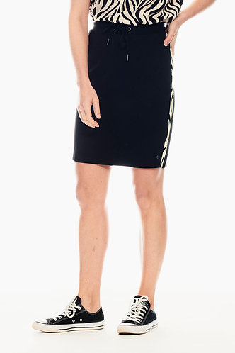 Skirt With Zebra Side Panel