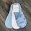 Thumbnail: Tie Dye Cloud Cushion Non-Slip Sock