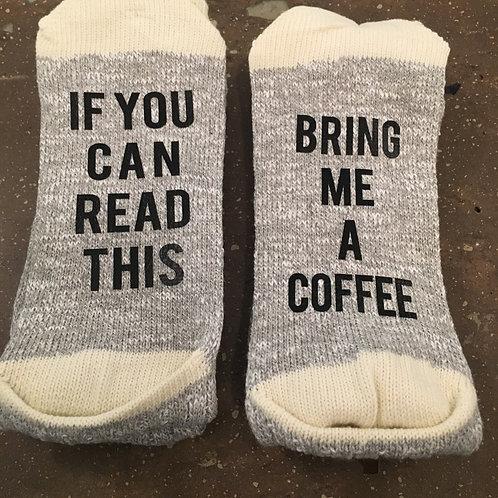 Bring me a coffee socks - women's size