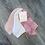 Thumbnail: 3 Pack Lemon Tie Dye Roll Socks