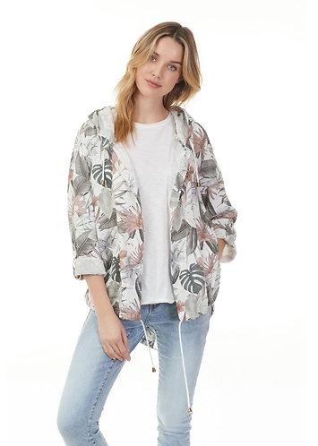 Charlie B Tropical hoodie