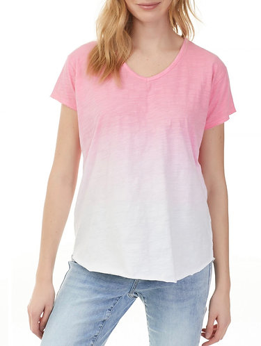 Two tone short sleeve