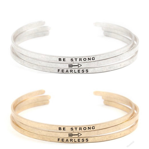 Be strong 3 bangle set