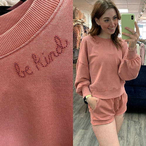 Marcella Be kind sweater z supply