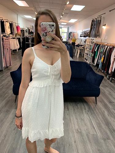 Sadie and sage white dress