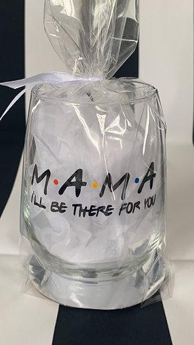Glass MAMA wine glass