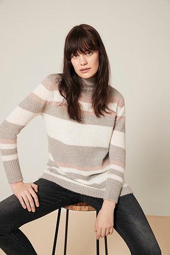 Charlie B Striped Knit Sweater